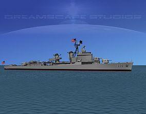 Gearing Class Destroyer DDR-880 USS Dyess 3D model