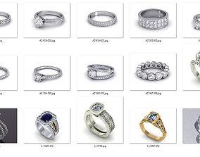 3D printable model Rings in bulk-0020