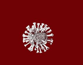 Coronavirus simple model animated