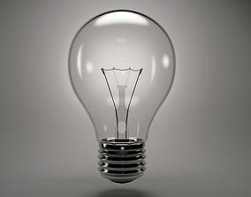 Incandescent light bulb 3D model