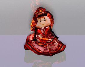 3D printable model Beautiful Abancay little doll