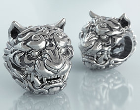 Tiger Charm and Bead 3D print model