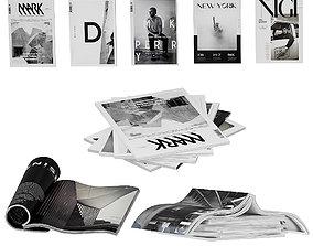 3D Magazines dark color 2