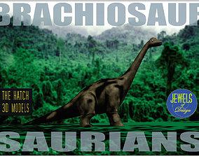 Brachiosaur model game-ready