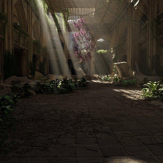 Sacred Tree Scene #66