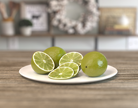 3D model Lime Fruit