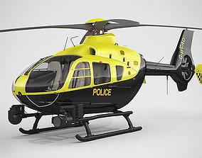 3D model Eurocopter EC135 Police