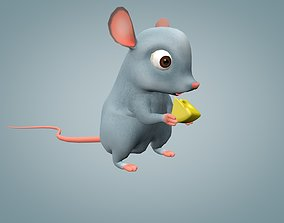 Mouse 3D model animated realtime