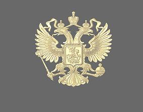 jewel 3D print model Russian coat of arms