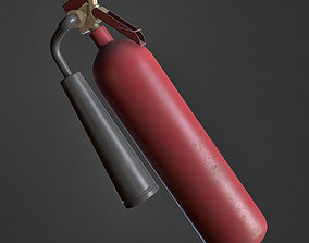 Fire Extinguisher 3D asset VR / AR ready