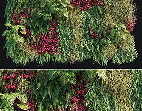 3D asset Vertical garden 14 model