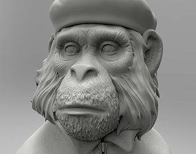 3dprint 3Dmodel STL CNC Figurine monkey