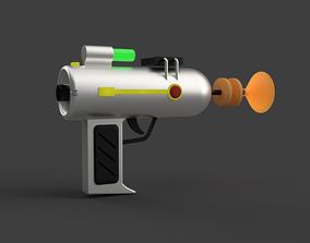 Llaser Gun from Rick and Morty cartoon 3D printable model