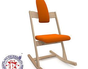 3D Ergonomic tilting chair