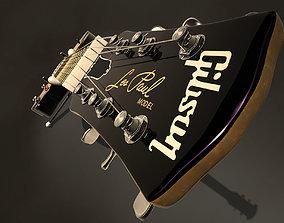 Electric guitar Gibson Les paul 3D