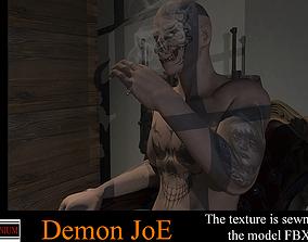 3D asset Demon JoE