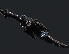 3D asset Fantasy Stylish- Dagger of Silence