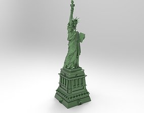 3D model of the Statue of Liberty for 3D printing