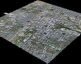 3D model Stockton - USA