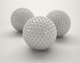 Golfball 3D model VR / AR ready