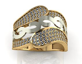 3D printable model ring stone 131