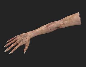 Hand old man hand 3D model