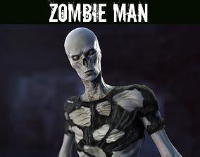 3D asset Zombie Man
