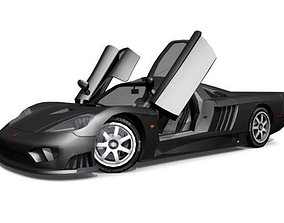 3D asset Saleen S7 Competition