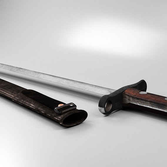 Swiss bayonet knife of the 1918