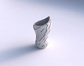 3D print model Vase vortex smooth with cavities