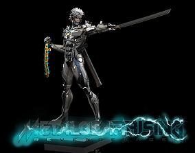 Raiden Statue from Metal Gear Rising 3D