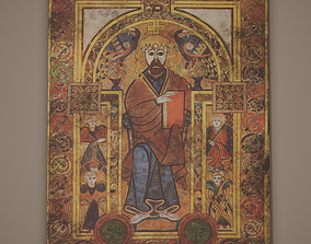 Medieval Designed Painting 3D asset realtime