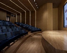 Auditorium room 002 3D