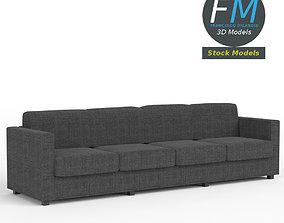 4 seat sofa 3D