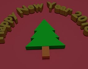 3D New Year 2018