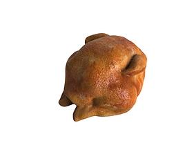 Grilled chicken food model