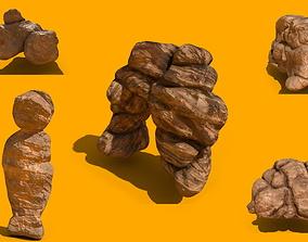 Sandstones Pack 3D model