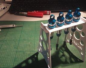 3D printable model RC shock rack