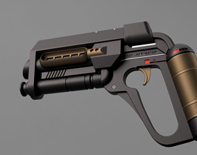 3D print model The 6th Day Foosh Gun Prop pistol