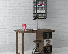 3D office set 09 AM149