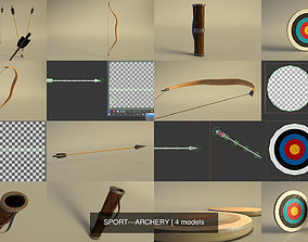 SPORT---ARCHERY 3D model
