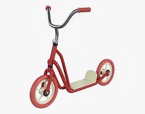 Kick scooter vintage 3D model