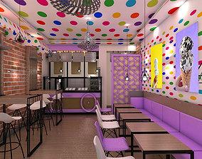 Ice Cream Shop 3D