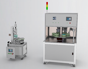 N95 mask sealing machine 3D asset