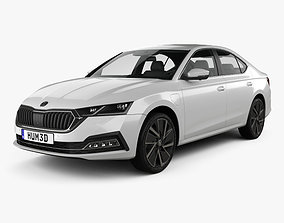 Skoda Octavia IV liftback 2020 3D model
