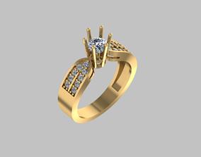 Ring Diamond art 3D printable model