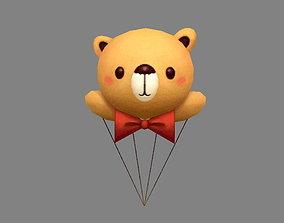 3D asset Cartoon Bear Balloon