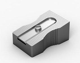 metal Pencil Sharpener 3D