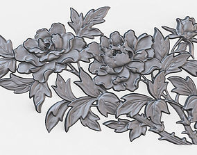 decoration Decorative Bas-relief 3D model Dec014