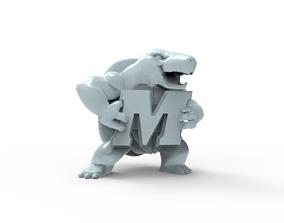 3D printable model university of maryland terrapins 2